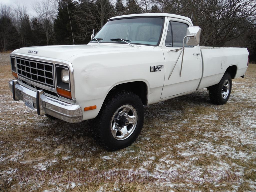1982 Dodge W350 1 ton 4x4 82 Power Ram